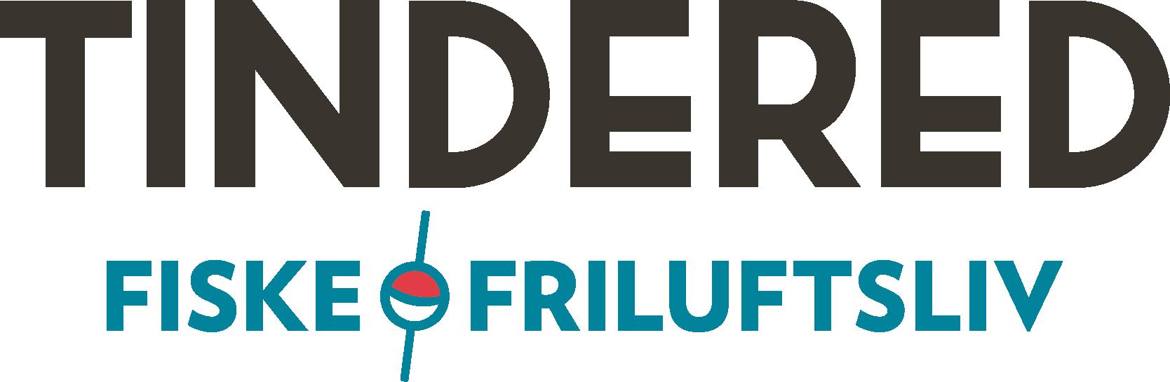 TINDERED FISKE & FRILUFTSLIV LOGO